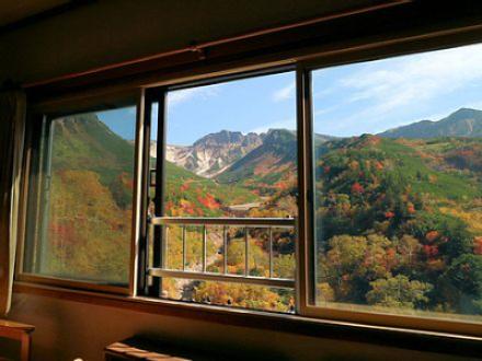 十勝岳温泉 凌雲閣 景観