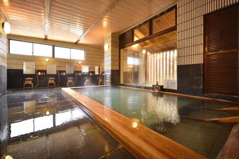松之山温泉 ひなの宿ちとせ お風呂