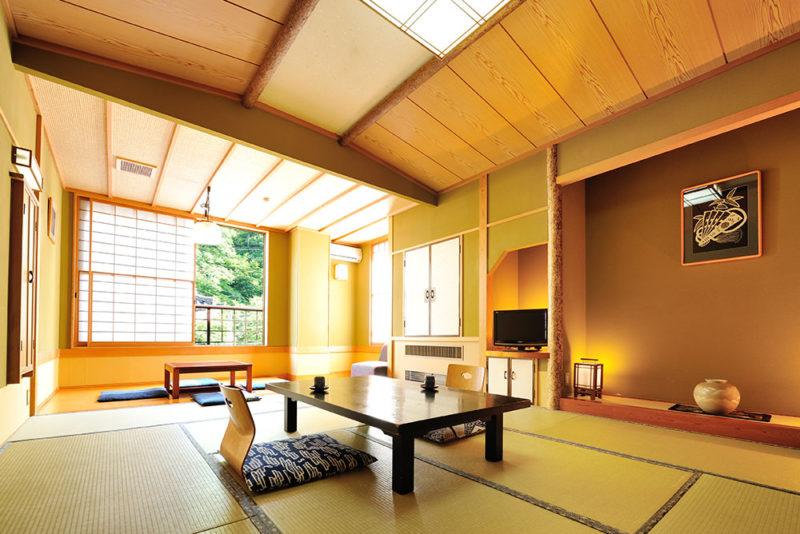 松之山温泉 ひなの宿ちとせ 客室