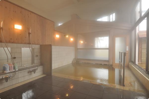 越後田中温泉 しなの荘 お風呂