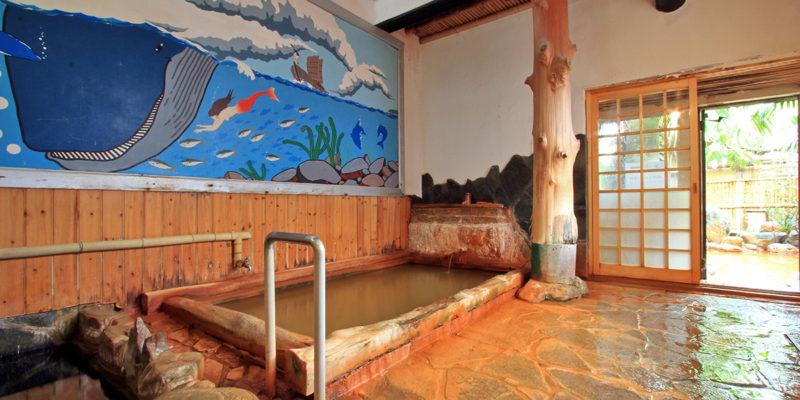 奥壱岐の千年湯 平山旅館 内湯