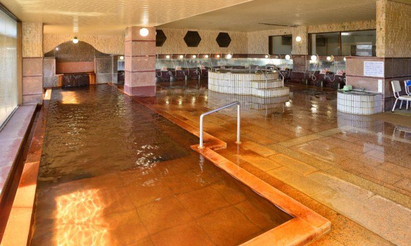 両津やまきホテル 大浴場