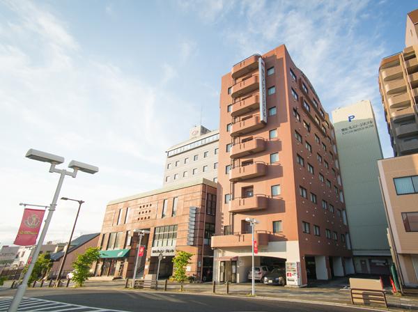 豊田プレステージホテル 外観