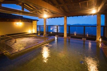 銀波荘 露天風呂