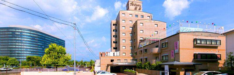 プラザホテル豊田 外観
