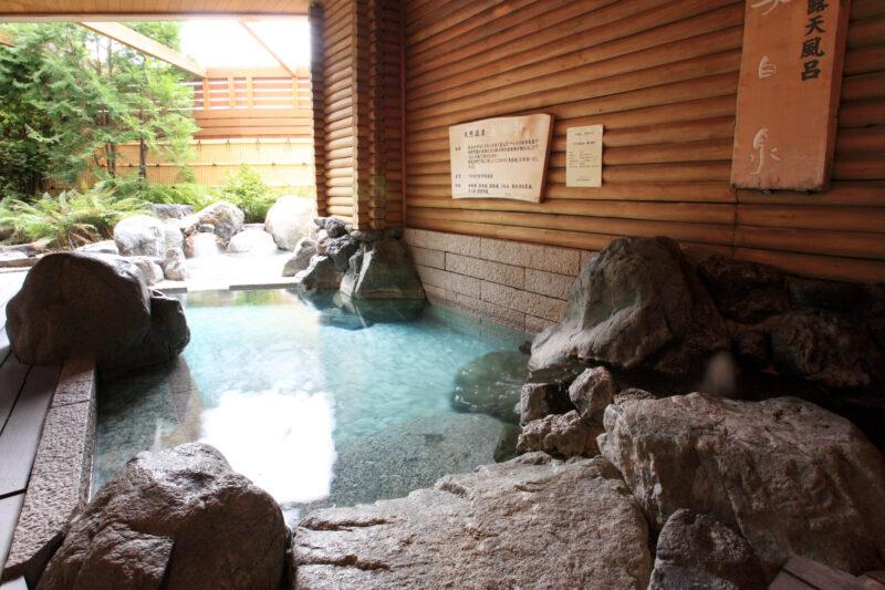 ホテル明山荘 露天風呂