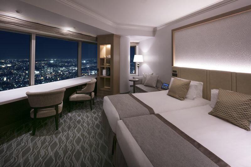 横浜ロイヤルパークホテル 客室 夜
