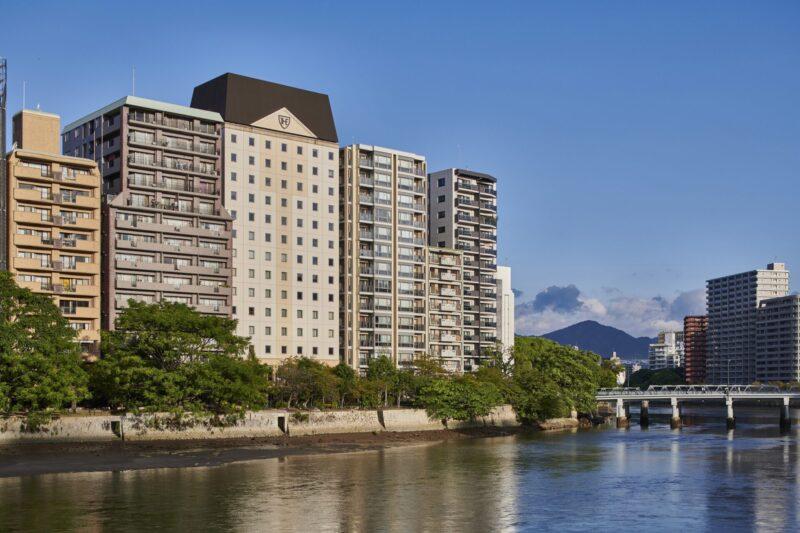 ザ ロイヤルパークホテル 広島リバーサイド 外観